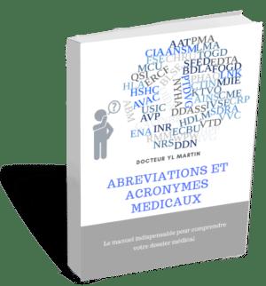 Abréviations et acronymes médicaux - medecin de recours, expert medical, aide aux victimes, docditoo, accident medical, erreur medical recours, faute medicale